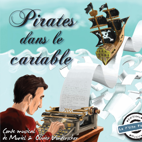 Couverture de l'album Pirates dans le cartable