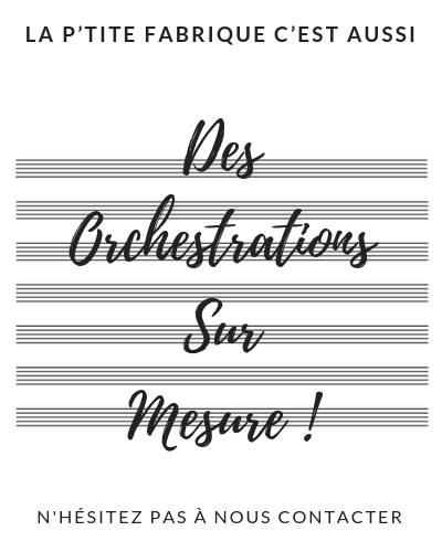 orchestrations sur mesure